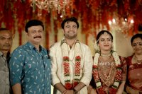 Maniyan-pillai-raju-son-Marriage-photos-(1)